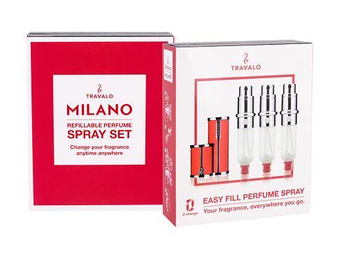 Travalo Milano 3x5 ml plnitelný flakón unisex