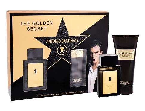 Antonio Banderas The Golden Secret EDT dárková sada pro muže - EDT 50 ml + balzám po holení 100 ml