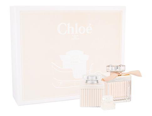 Chloe Chloe Fleur EDP dárková sada pro ženy - EDP 75 ml + tělové mléko 100 ml + EDP 5 ml