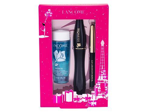 Lancome Hypnose řasenka dárková sada 01 Noir Hypnotic pro ženy - řasenka 6,2 ml + tužka na oči Le Crayon Khol 0,7 g 01 Noir + odličovací přípravek na oči Bi-Facil 30 ml