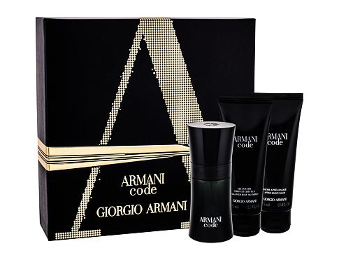 Giorgio Armani Armani Code Pour Homme EDT dárková sada pro muže - EDT 50 ml + balzám po holení 75 ml + sprchový gel 75 ml
