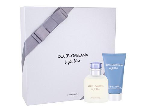 Dolce&Gabbana Light Blue Pour Homme EDT dárková sada pro muže - EDT 75 ml + balzám po holení 75 ml