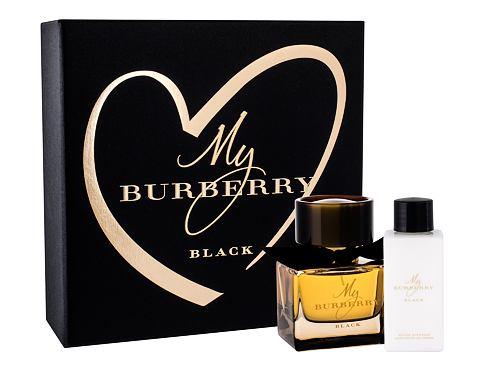 Burberry My Burberry Black parfém dárková sada pro ženy - parfém 50 ml + tělové mléko 75 ml