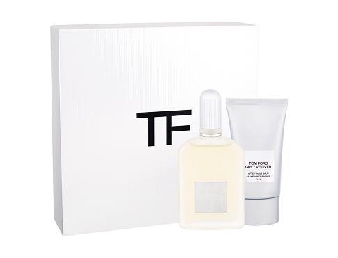 TOM FORD Grey Vetiver EDP dárková sada pro muže - EDP 50 ml + balzám po holení 75 ml