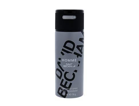 David Beckham Homme 150 ml deodorant Deospray pro muže