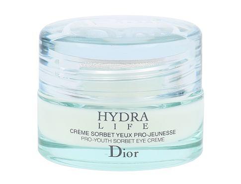 Christian Dior Hydra Life Sorbet 15 ml oční krém pro ženy
