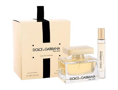 Dolce&Gabbana The One EDP dárková sada pro ženy - EDP 75 ml + EDP 7,4 ml
