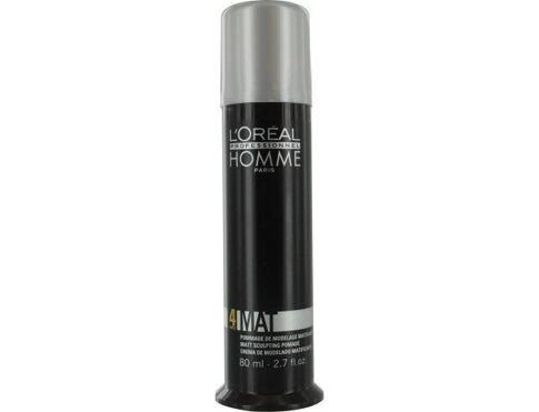L´Oréal Professionnel Homme Mat 80 ml gel na vlasy pro muže