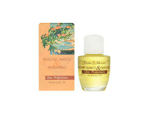 Frais Monde White Musk And Mandarin Orange 12 ml parfémovaný olej pro ženy