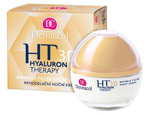 Dermacol 3D Hyaluron Therapy 50 ml noční pleťový krém pro ženy