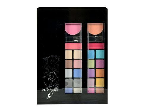 Makeup Trading Schmink Set Styles To Go dekorativní kazeta dárková sada pro ženy - Complet Make Up Palette