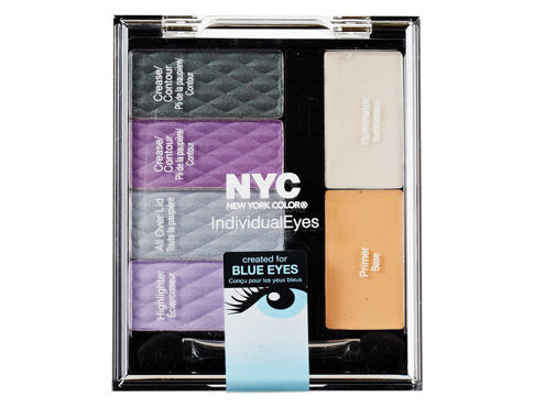 Oční stín NYC New York Color Individual Eyes Custom Palette 9,3 g 945 Midtown Mauve
