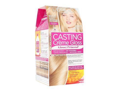 L´Oréal Paris Casting Creme Gloss Glossy Princess 1 ks barva na vlasy 8031 Creme Brulée pro ženy