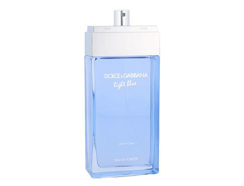 Dolce&Gabbana Light Blue Love in Capri 100 ml EDT Tester pro ženy