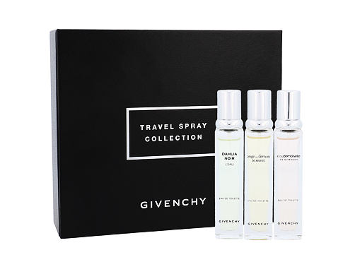 Givenchy Mini Set 3 EDT dárková sada pro ženy - edt Ange ou Demon Le Secret 12,5 ml + edt Dahlia Noir L´Eau 12,5 ml + edt Eaudemoiselle Eau Florale 12,5 ml