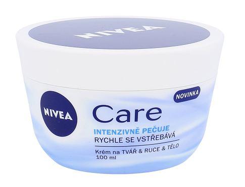 Nivea Care 100 ml denní pleťový krém pro ženy