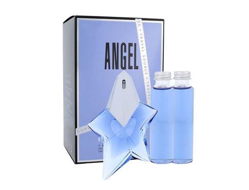 Thierry Mugler Angel EDP dárková sada Naplnitelný pro ženy - EDP 50 ml + EDP Eco-náplň bez rozprašovače 2 x 50 ml