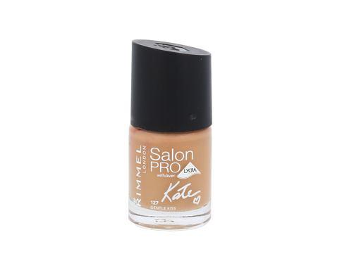 Rimmel London Salon Pro Kate 12 ml lak na nehty 127 Gentle Kiss pro ženy