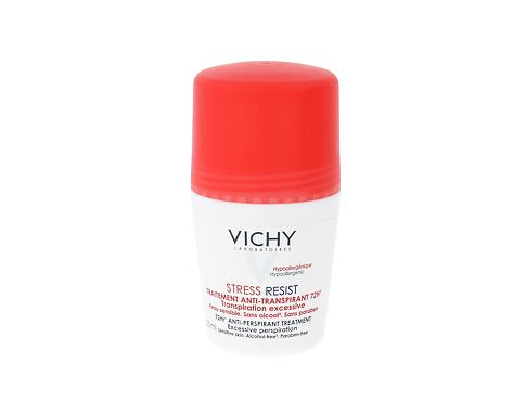 Vichy Deodorant 72H Stress Resist 50 ml antiperspirant Roll-on pro ženy