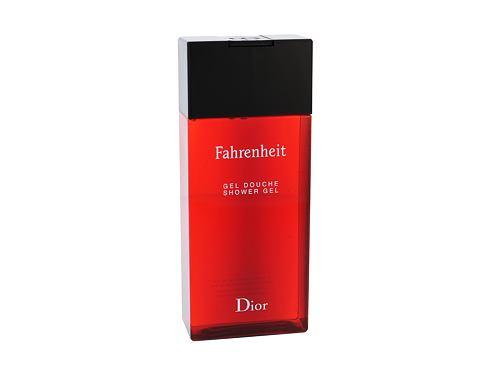 Christian Dior Fahrenheit 200 ml sprchový gel pro muže