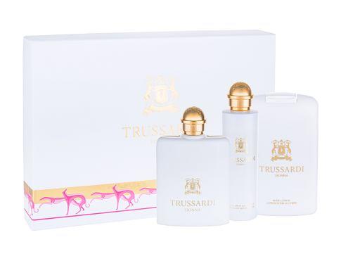 Trussardi Donna 2011 EDP dárková sada pro ženy - EDP 100 ml + deodorant 100 ml + tělové mléko 200 ml