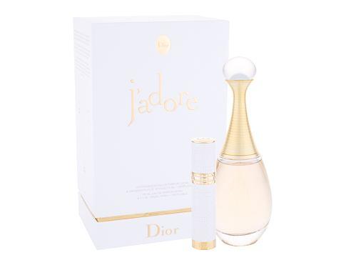 Christian Dior J´adore EDP dárková sada pro ženy - EDP 100 ml + EDP naplnitelný travel spray 7,5 ml