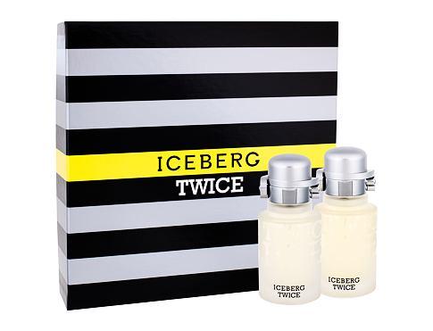 Iceberg Twice EDT dárková sada pro muže - EDT 75 ml + voda po holení 75 ml
