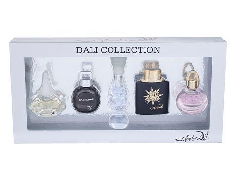 Salvador Dali Mini Set 3 EDT dárková sada pro ženy - 5x EDT 5 ml - It is Dream + Le Roy Soleil Extreme Pour Homme + Dalilight + Salvador Pour Homme + Dali 2011