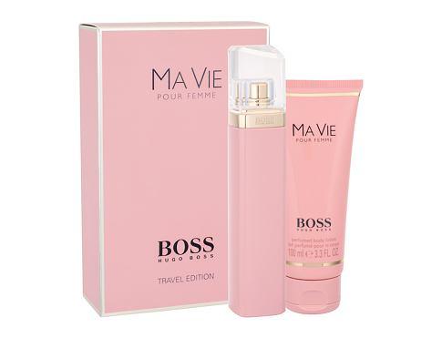 HUGO BOSS Boss Ma Vie Pour Femme EDP dárková sada pro ženy - EDP 75 ml + tělové mléko 100 ml