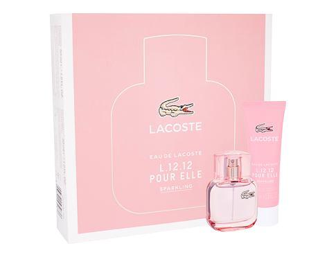 Lacoste Eau De Lacoste L.12.12 Pour Elle Sparkling EDT dárková sada pro ženy - EDT 30 ml + sprcho