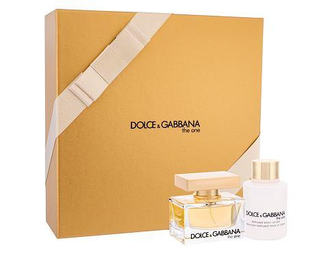 Dolce&Gabbana The One EDP dárková sada pro ženy - EDP 50 ml + tělové mléko 100 ml