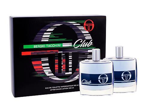 Sergio Tacchini Club EDT dárková sada pro muže - EDT 100 ml + voda po holení 100 ml