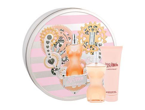 Jean Paul Gaultier Classique EDT dárková sada pro ženy - EDT 50 ml + tělové mléko 75 ml