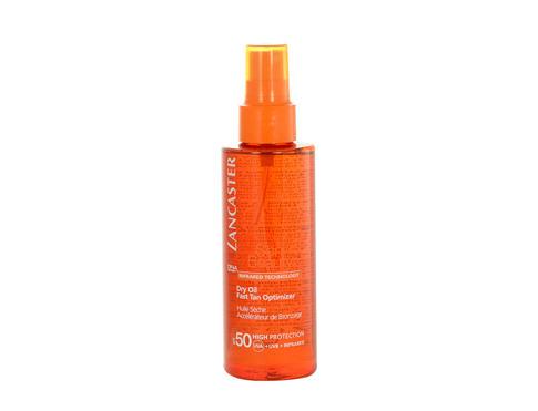 Lancaster Sun Beauty Dry Oil SPF50 150 ml opalovací přípravek na tělo pro ženy