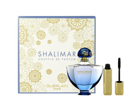 Guerlain Shalimar Souffle de Parfum EDP dárková sada pro ženy - EDP 50 ml + řasenka Cils D´Enfer 8,5 ml