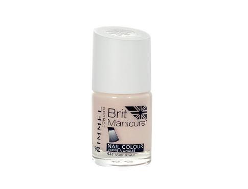 Rimmel London Brit Manicure 12 ml lak na nehty 433 Ivory Tower pro ženy