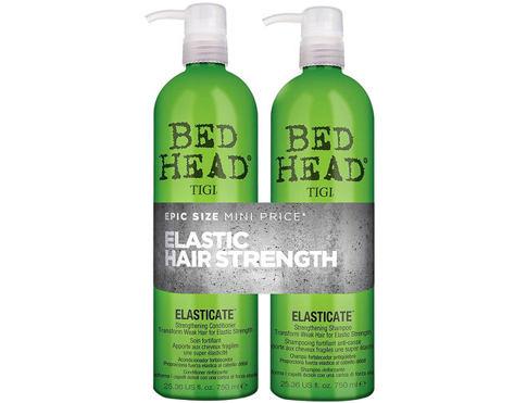 Tigi Bed Head Elasticate šampon dárková sada pro ženy - šampon 750 ml + kondicionér 750 ml