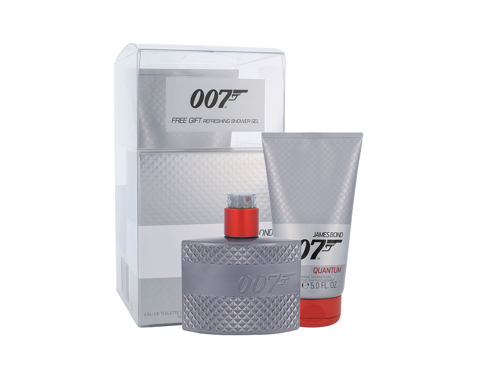 James Bond 007 Quantum EDT dárková sada pro muže - EDT 50 ml + sprchový gel 150 ml