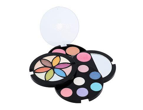 Makeup Trading Flower Compact dekorativní kazeta dárková sada pro ženy - Complete Makeup Palette