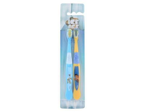 Ice Age Toothbrush zubní kartáček dárková sada unisex - zubní kartáček 2 ks