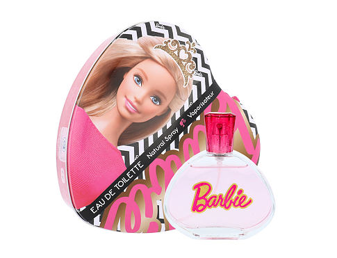 Barbie Barbie EDT dárková sada unisex - EDT 100 ml + plechová krabička