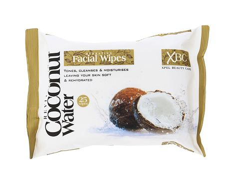 Čisticí ubrousky Xpel Coconut Water Hydrating Facial Wipes 25 ks