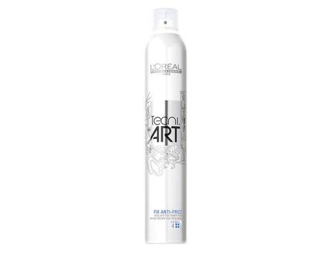 L´Oréal Professionnel Tecni.Art Fix Anti-Frizz 400 ml lak na vlasy Poškozený flakon pro ženy