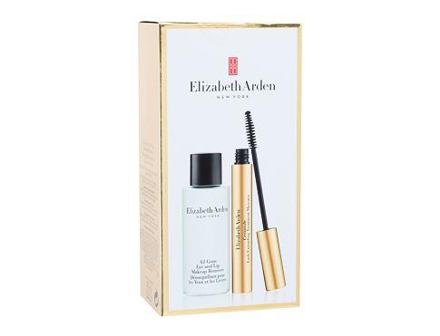 Elizabeth Arden Ceramide řasenka dárková sada 01 Black pro ženy - řasenka 7 ml + odličovací přípravek All Gone Makeup Remover 50 ml