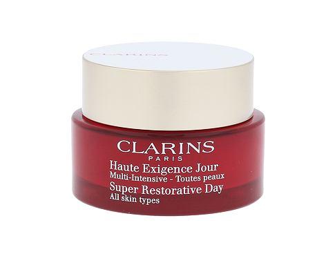 Clarins Super Restorative 50 ml denní pleťový krém pro ženy