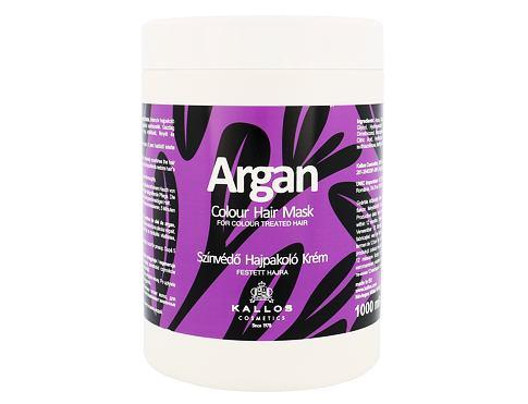 Kallos Cosmetics Argan 1000 ml maska na vlasy pro ženy