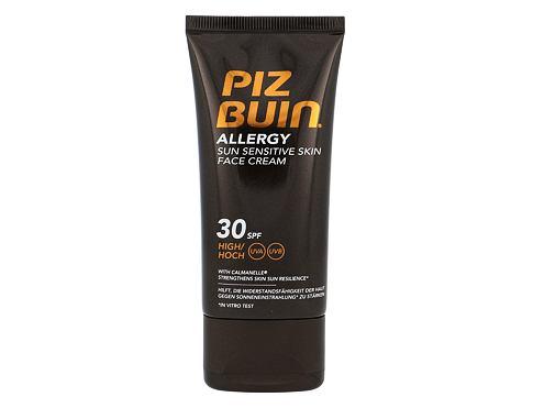 PIZ BUIN Allergy Sun Sensitive Skin Face Cream SPF30 50 opalovací přípravek na obličej Poškozen