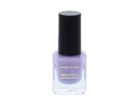 Lak na nehty Max Factor Max Effect Mini 4,5 ml 34 Juicy Plum