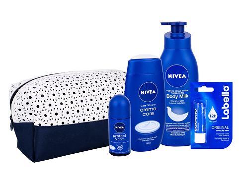 Nivea Creme Care sprchový gel dárková sada pro ženy - sprchový gel Creme Care 250 ml + antipers