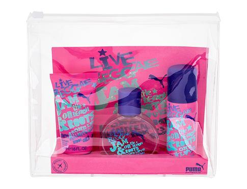 Puma Jam Woman EDT dárková sada pro ženy - EDT 40ml + sprchový gel 50 ml + deospray 50 ml